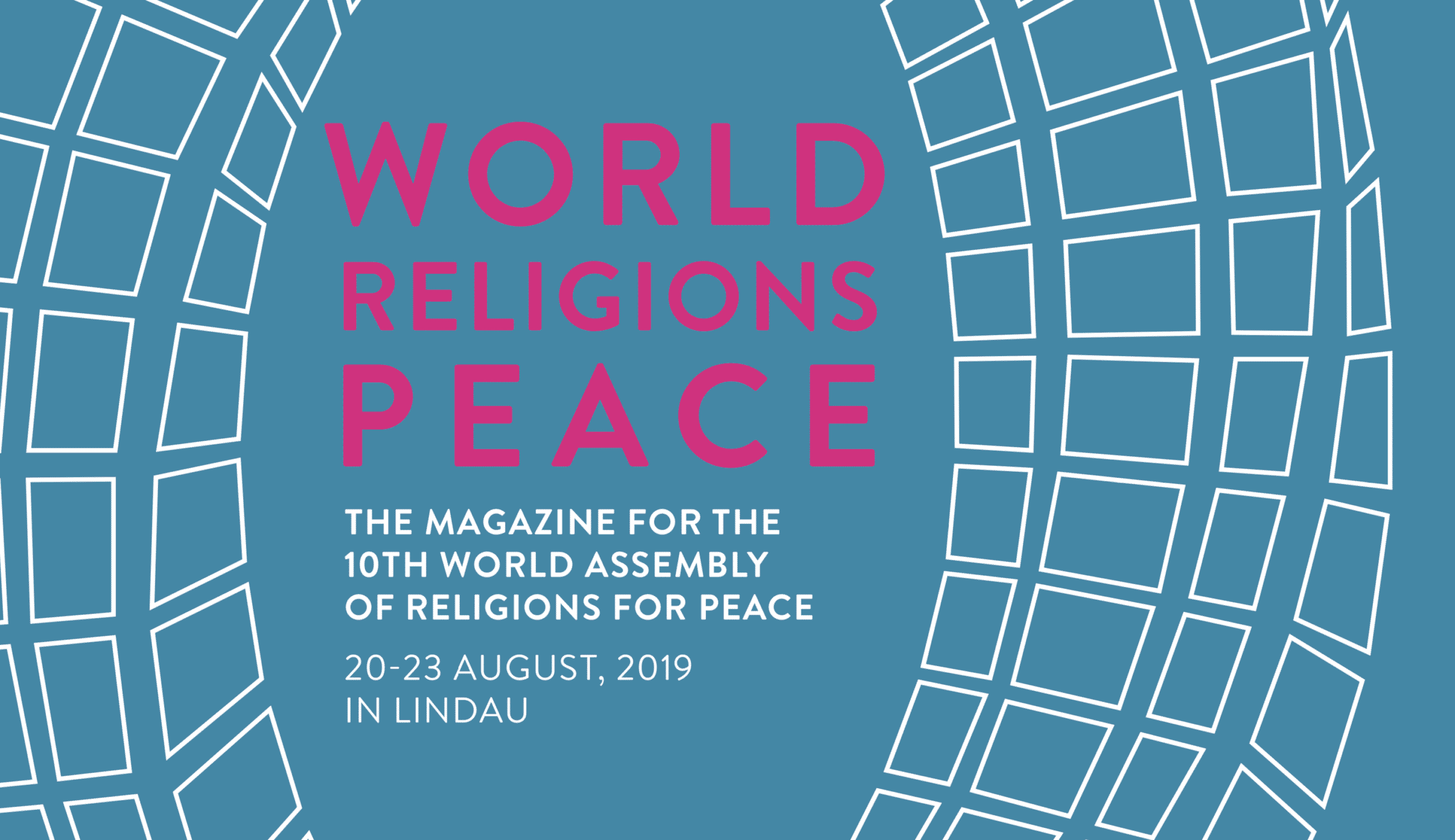 Cover title of newspaper supplement world religions for peace